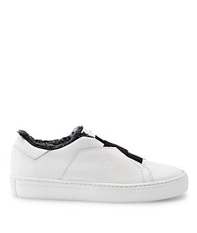 Sneakers en cuir lisse LS0118 de liebeskind