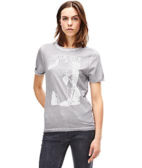 T-Shirt mit Frontprint F1161300