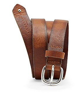 Vintage-look belt LKB666 from liebeskind