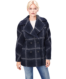 Wool coat W1163102 from liebeskind