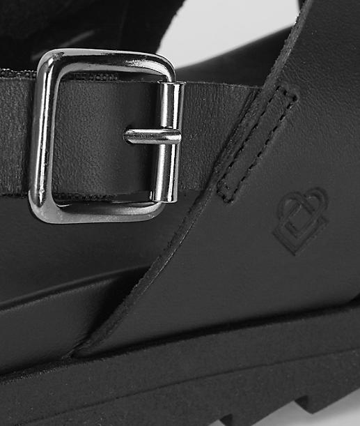crisscross platform sandal from liebeskind
