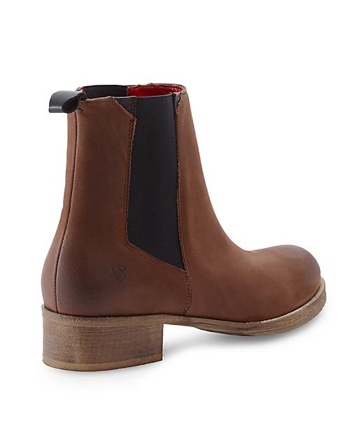 Fettleder Chelsea Boots LS0120