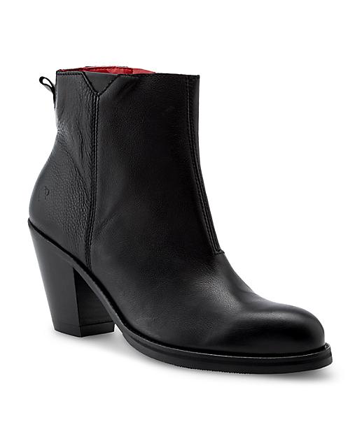 Glattleder Ankle Boots LS0121