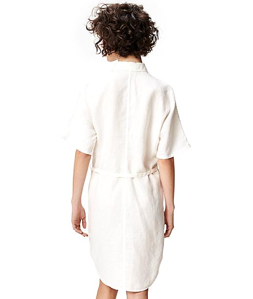 Hemdkleid aus Leinen S1164108