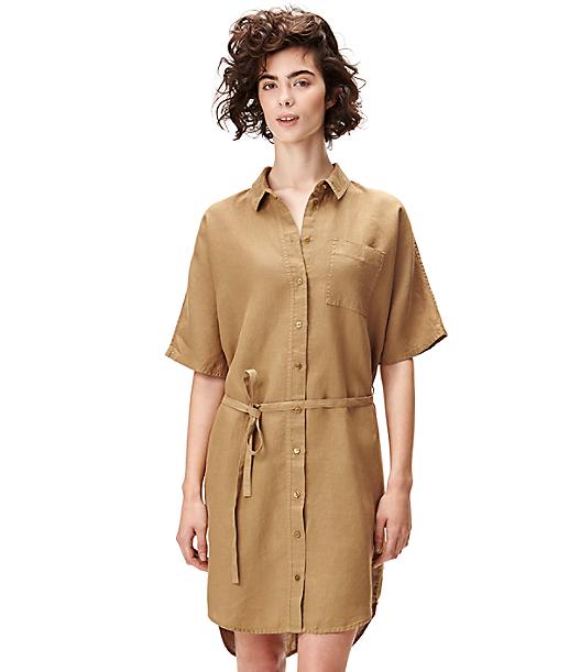 Hemdkleid aus Leinen S2164108