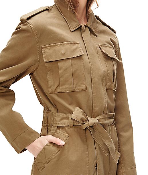 Jacke im Safaristil F1163001