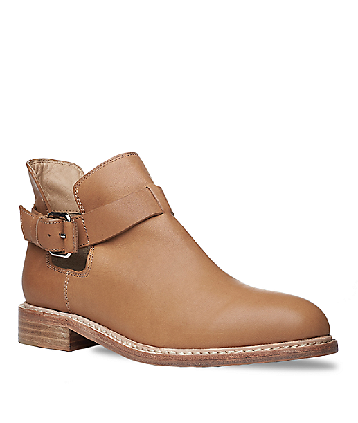 Leather cutout bootie LS0084 from liebeskind