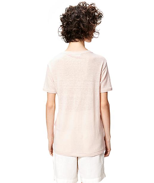 Linen T-shirt S1161000 from liebeskind