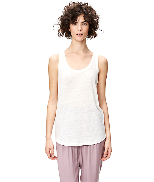 Linen top S1161002 from liebeskind