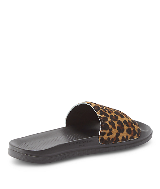 Sandals with a footbed from liebeskind