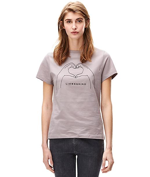 Shirt mit Stickerei F2161002