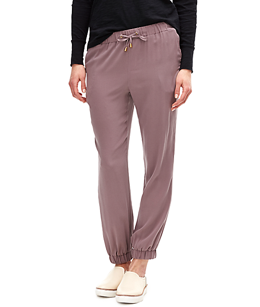 Silk trousers F2162301 from liebeskind
