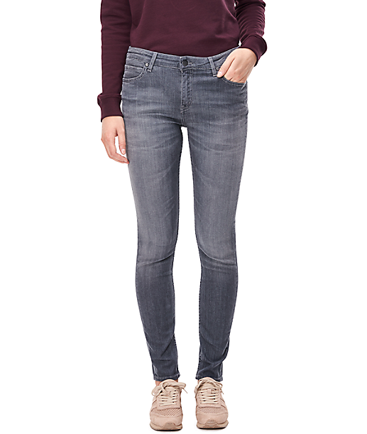 Skinny jeans with distressed details H2168310 from liebeskind