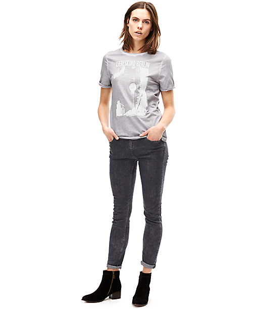 T-shirt with a front print F1161300 from liebeskind
