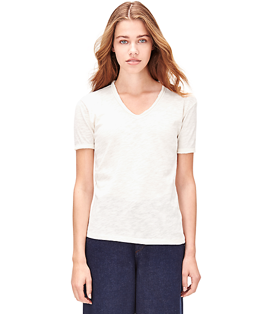 T-shirt with a V-neck S2161031 from liebeskind