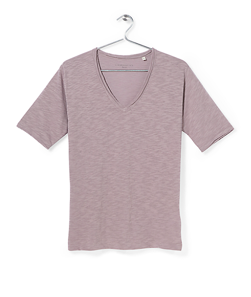 T-shirt with a V-neckline F1161402 from liebeskind