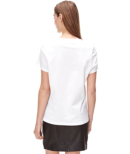 Top with embroidery F2161002 from liebeskind