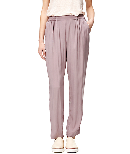 Viscose trousers F1162206 from liebeskind