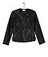 Biker jacket with braided details F1167001 from liebeskind