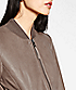 Leather bomber F2175010 from liebeskind