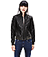 Leather jacket W1167700 from liebeskind