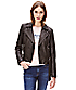 Leather jacket with a belt F1167000 from liebeskind