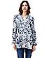 Longbluse mit Allover-Print F1162251