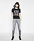 T-Shirt mit Frontprint F1170100