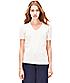 T-Shirt mit V-Neck S2161031