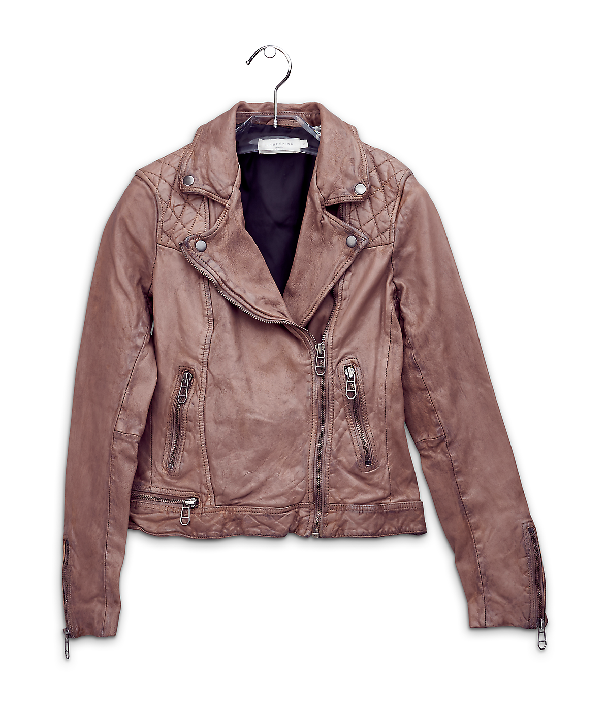 Biker-style leather jacket H1167000 from liebeskind