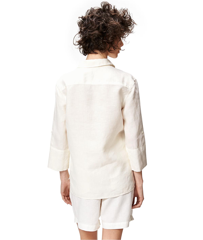 Bluse aus Leinen S1164103