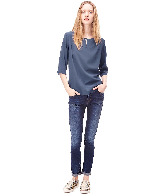 Bluse aus Seide H2162102