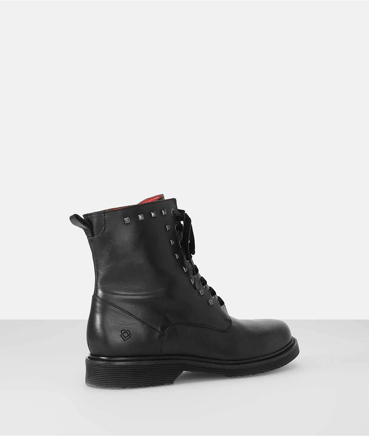 Combat boots with studs from liebeskind