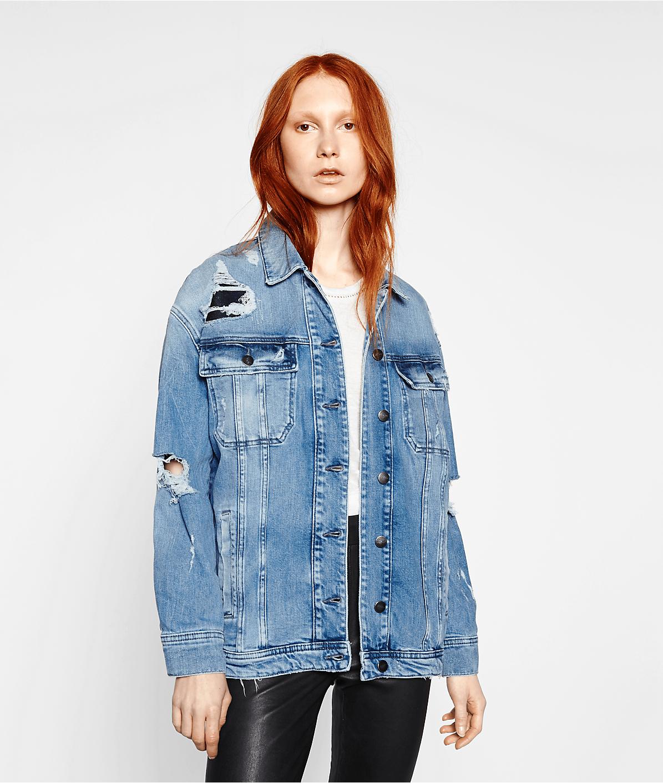 Denim jacket F2176070 from liebeskind