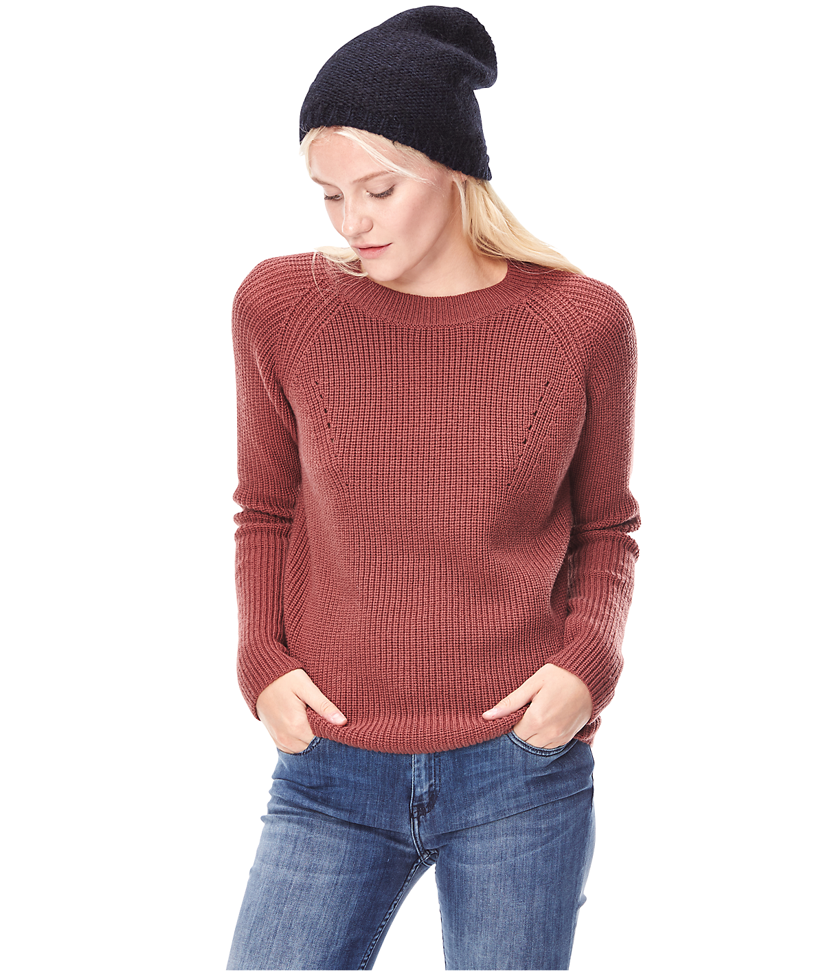 Knit hat W2165111 from liebeskind