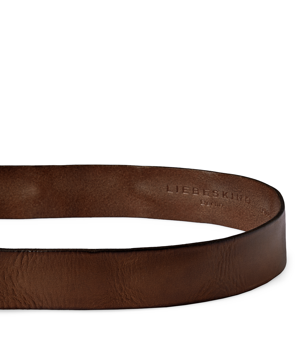 Leather belt with studs from liebeskind