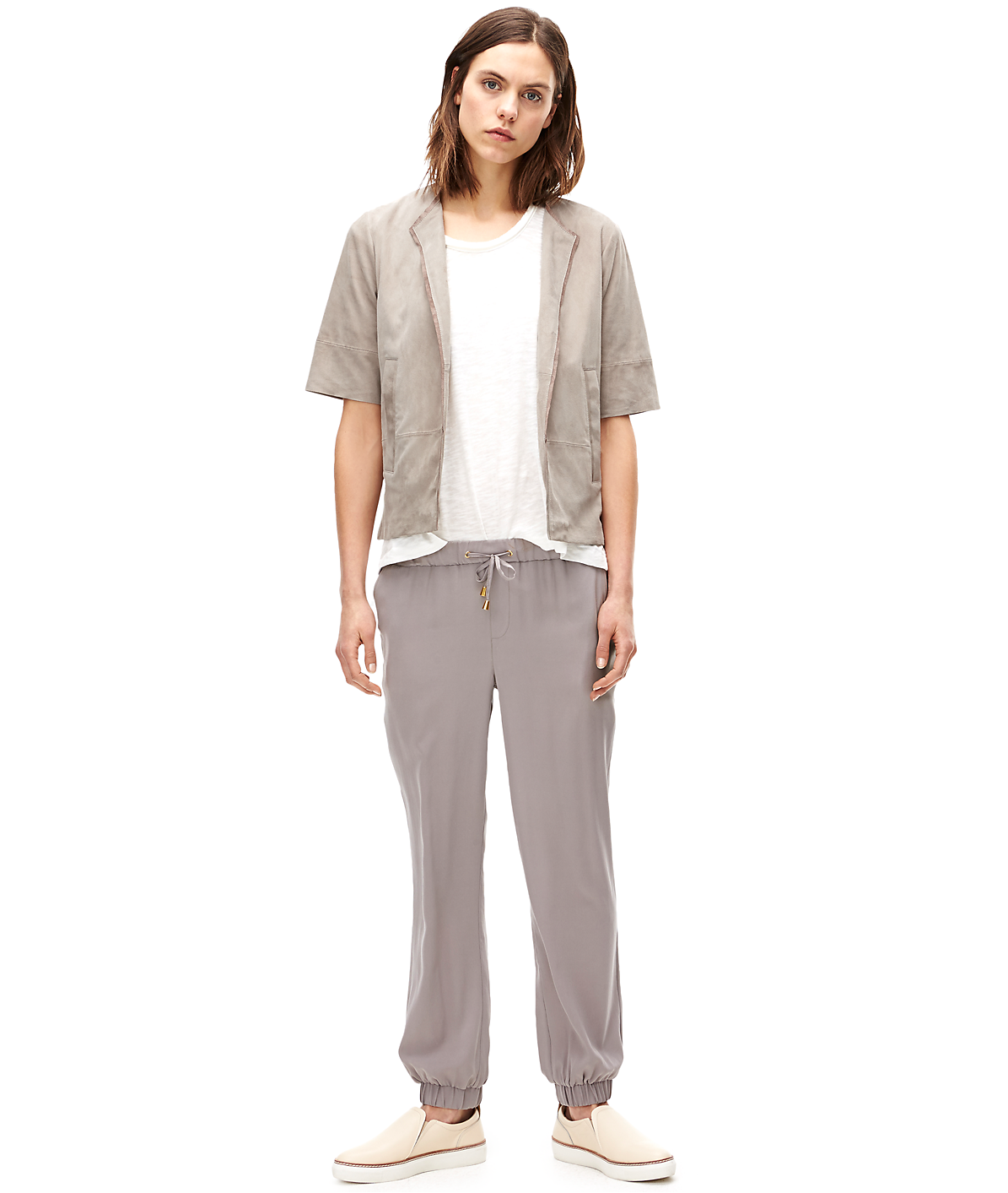 Leather bomber F2167203 from liebeskind
