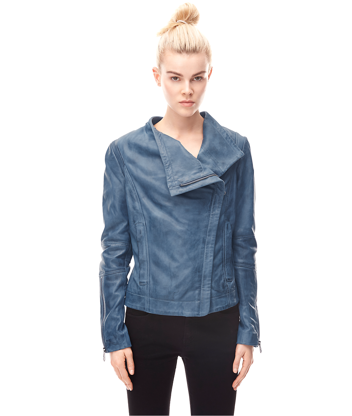 Leather jacket H2167200 from liebeskind