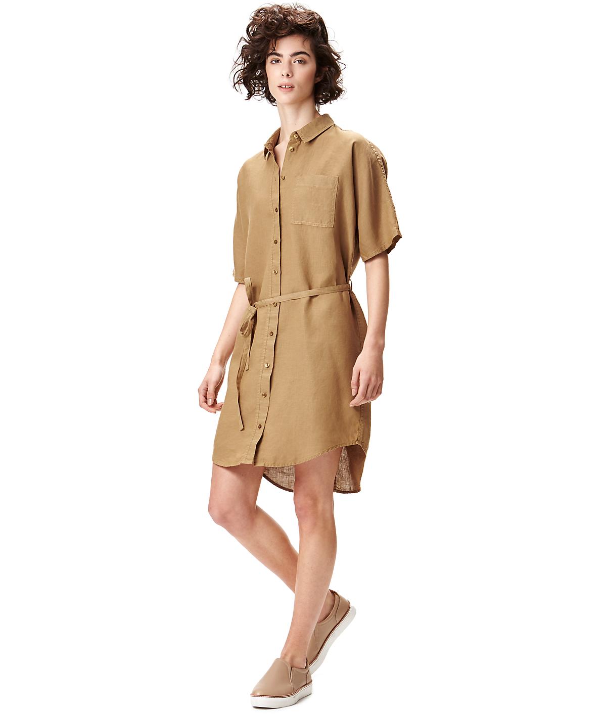 Linen shirt dress S2164108 from liebeskind