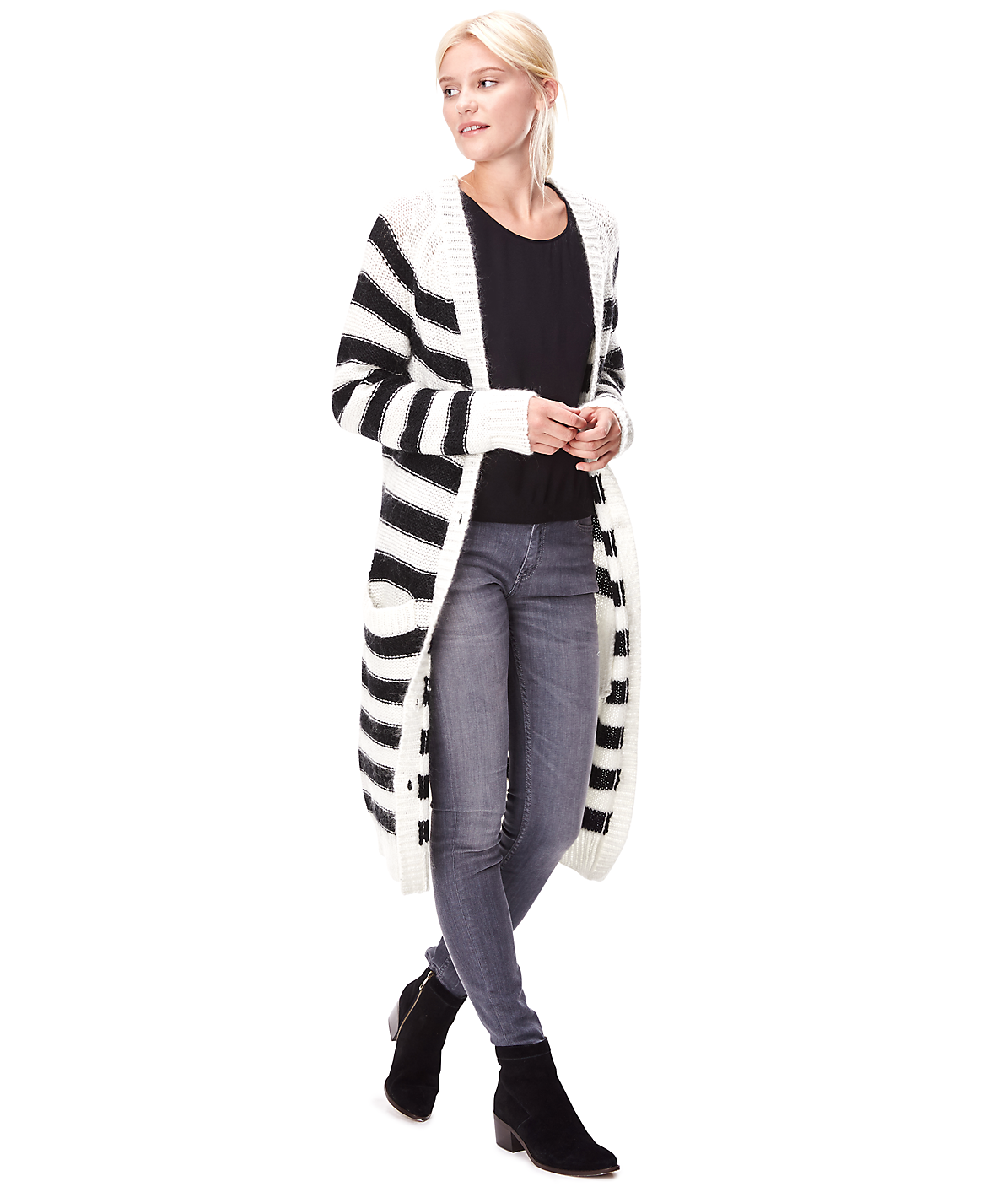 Long cardigan W2165200 from liebeskind