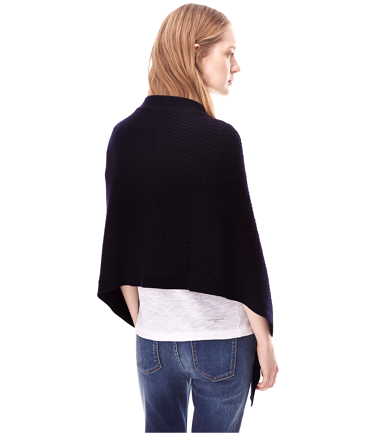 Poncho aus Wolle H2165204