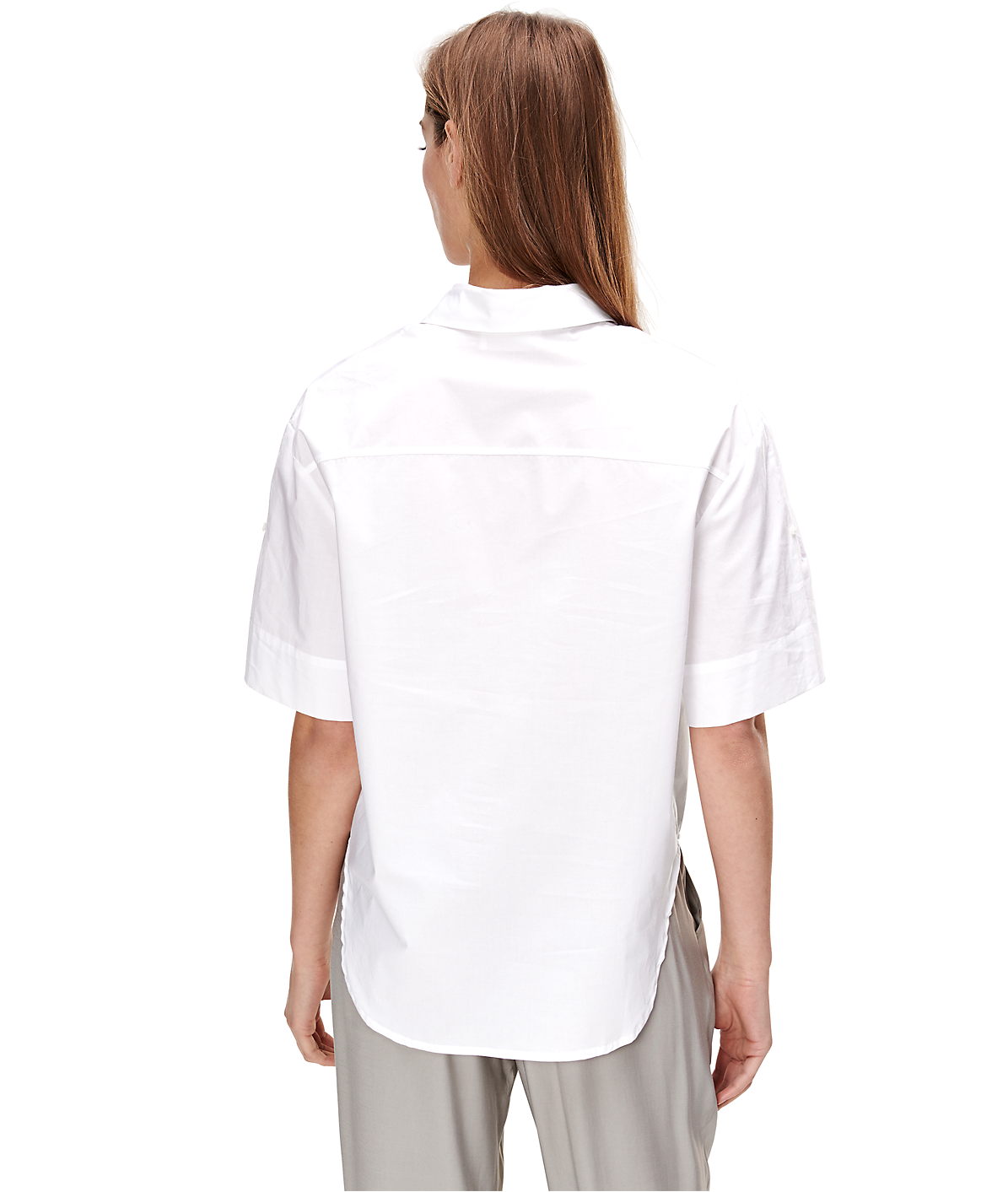 Shirt blouse with short sleeves F1162001 from liebeskind