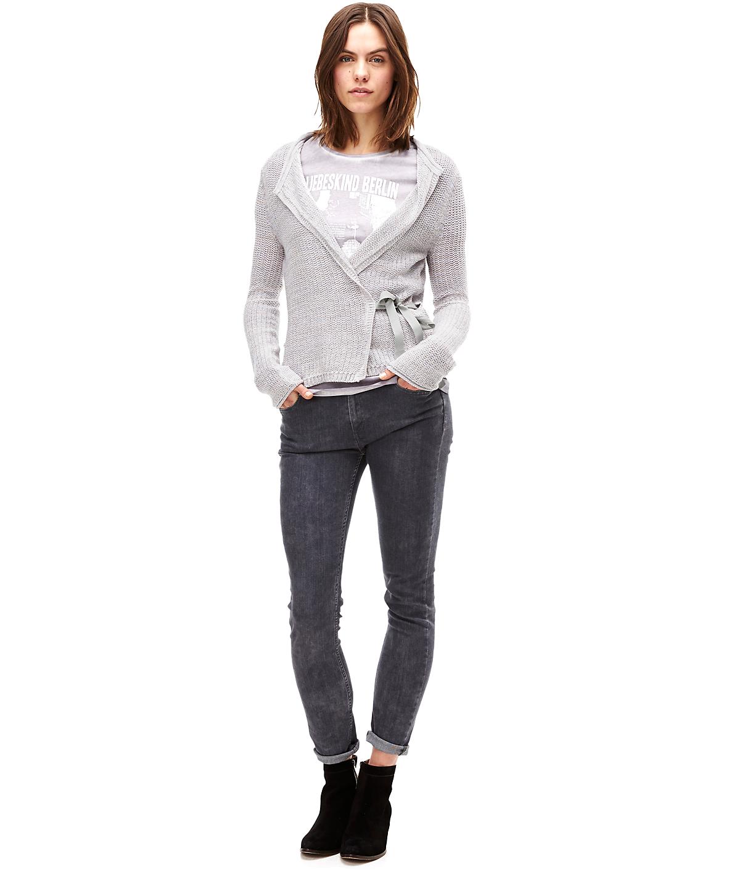 Short wrap cardigan F1165000 from liebeskind