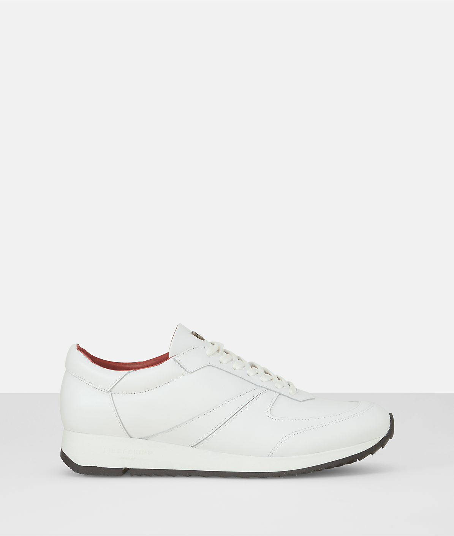 Sneakers en cuir lisse LF173120R de liebeskind