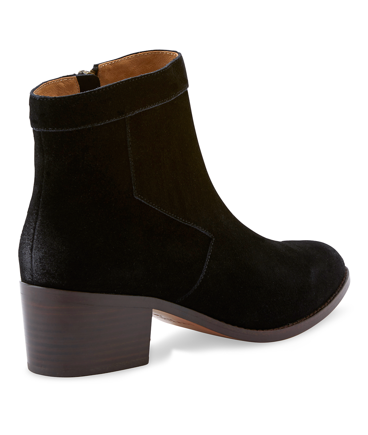 Suede ankle bootie LS0085 from liebeskind