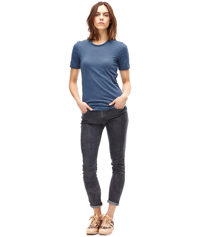T-Shirt aus Flammgarnjersey F1161400