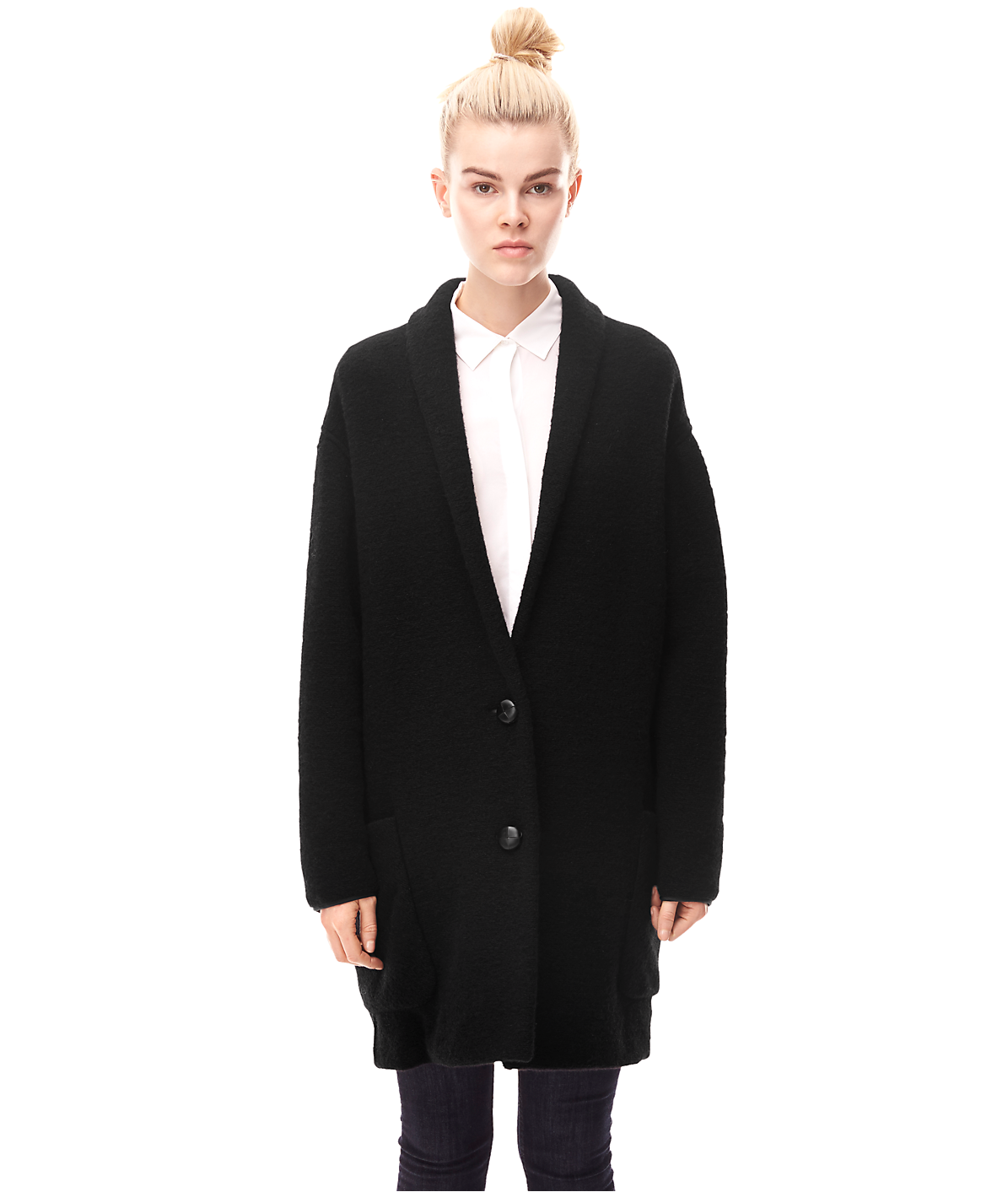 Wool coat H1163100 from liebeskind