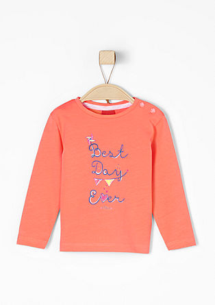 """Best Day Ever"" print top from s.Oliver"