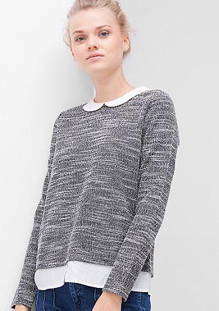 2-in-1-Blusenshirt
