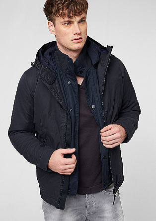 2-in-1 jacket with a body warmer from s.Oliver